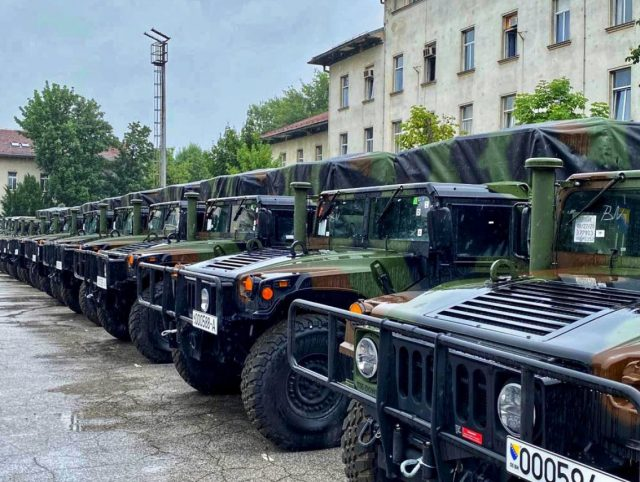 Humvees for Bosnia and Herzegovina