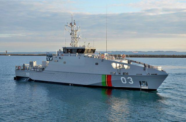 Vanuatu patrol boat RVS Takuare
