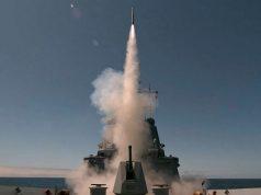 HMAS Sydney ESSM launch
