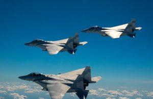 Qatari F-15 fighter jets