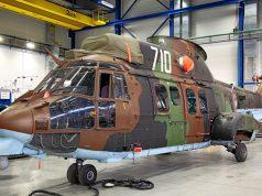 Bulgarian Cougar helicopter overhaul