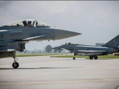 German Eurofighters with Meteor missiles