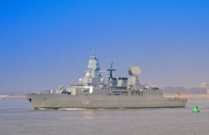 F124 frigate radar upgrade