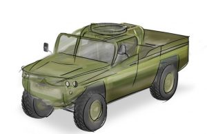 ATTV air-launched combat vehicle