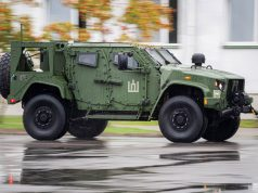Lithuanian Army JLTV handover