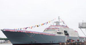 USS Nantucket launch