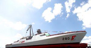 Pakistan Navy's first MILGEM corvette launch ceremony