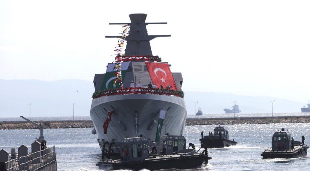 https://defbrief.com/wp-content/uploads/2021/08/Pakistans-first-Turkish-built-MILGEM-corvette-hits-the-water1-1024x568.jpg