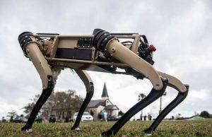Ghost Robotics robot dog