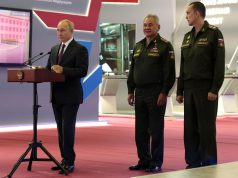 Russian keel-laying ceremony