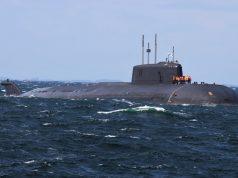Oscar II sub Orel off Denmark