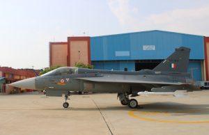 India Tejas combat aircraft
