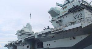 HMS Queen Elizabeth in Guam