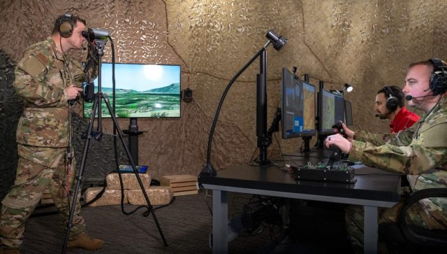 JTAC simulator system