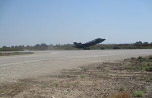 F-35 landing on RADR