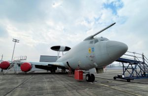 former Royal Air Force E-3D