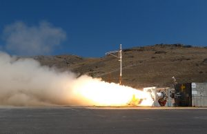 US Army Navy hypersonic weapon solid rocket motor