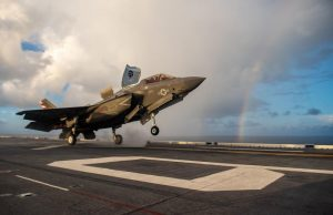 US Navy Royal Navy F-35B cross-decking