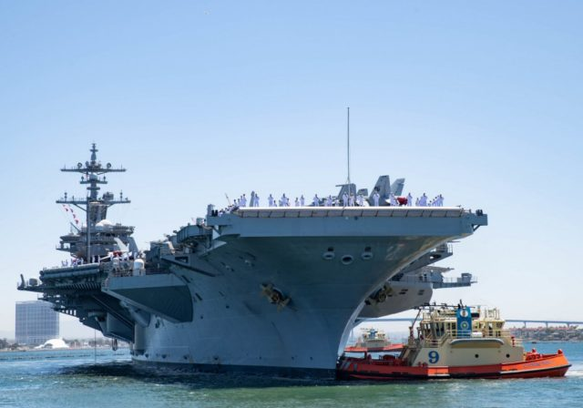 USS Carl Vinson deploys with F-35C Joint Strike Fighters