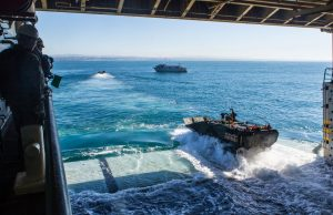 ACV operating from USS Somerset (LPD 25)