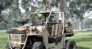 Bale Defence rough terrain vehicle