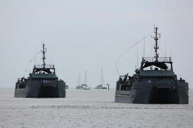 RAN survey vessels