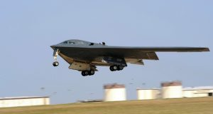 B-2 takeoff from Whiteman AFB