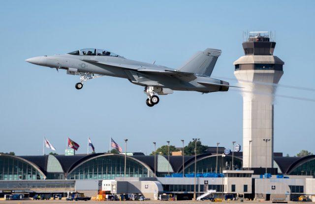 First US Navy Block III Super Hornet