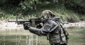 Minimi light machine gun