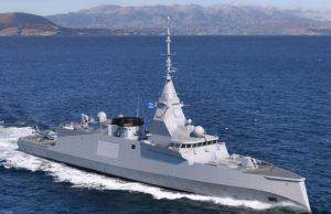 Hellenic Navy FDI frigate Naval Group
