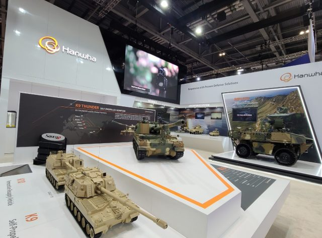 K9 for British Army MFP program at DSEI London 2021