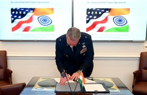 India US air-launched UAV project
