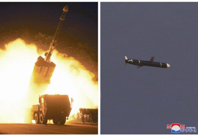 North Korean long-range cruise missile