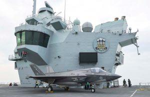 F-35B on HMS Prince of Wales