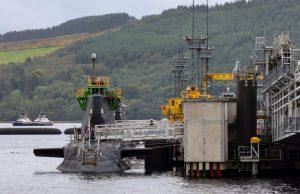 HMS Audacious at HMNB Clyde