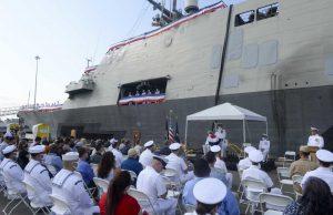 USS Freedom decommissioning