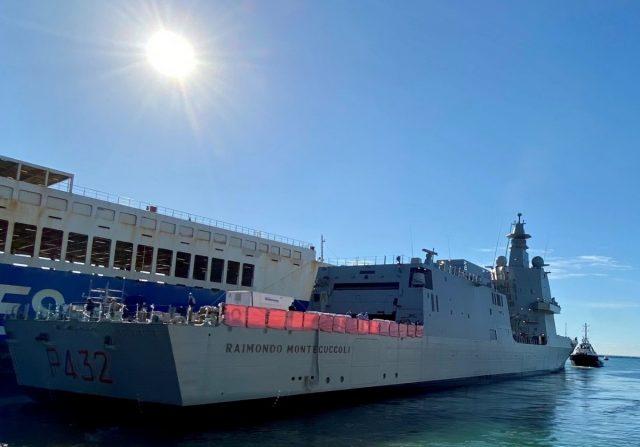 ITS Raimondo Montecuccoli sea trials