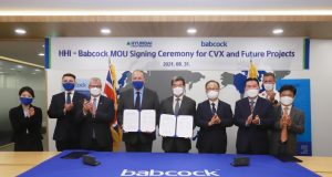 Babcock Hyundai Heavy Industries CVX South Korea