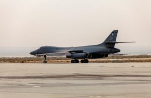 Final of 17 B-1B Lancer planned for retirement this year bows out of service