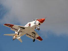 Goshawk jet trainer in Texas