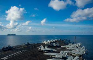 USS Ronald Reagan in South China Sea