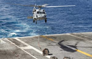 MH-60S helicopter crash USS Abraham Lincoln