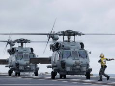 Royal Australian Navy MH-60R helicopters