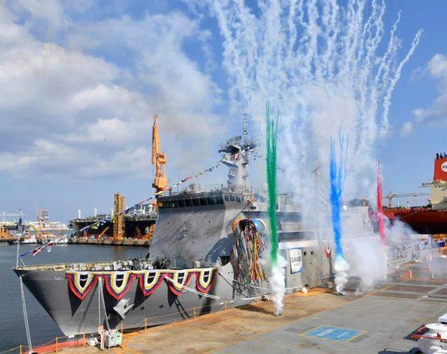 ASR-II submarine rescue ship ROKS Ganghwado