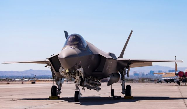 F-35A with guided B61-12 nuclear bomb