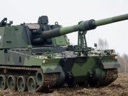 Finnish K9 howitzer
