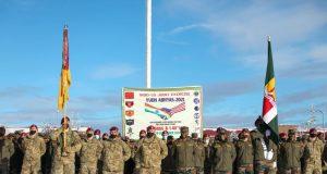 Indian Army troops in Alaska