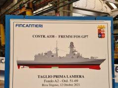 12th FREMM for Italian Navy construction start