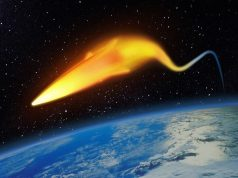 Lockheed Martin hypersonic weapon illustration