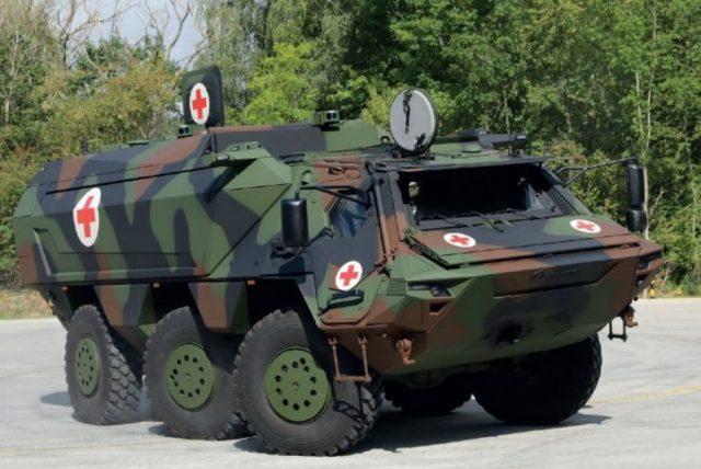 Fuchs armored vehicle
